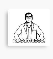 El Contador Canvas Print