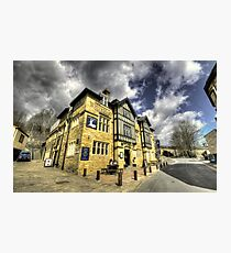 White Hart at Todmorden  Photographic Print