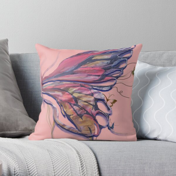 Butterfly Lover  Throw Pillow