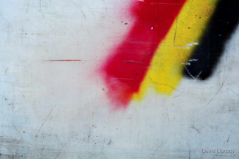 Red, Yellow, Black by David Librach - DL Photography -