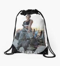 Living La FRIDA Loca Drawstring Bag