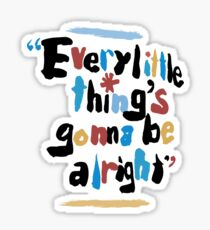 every little things Sticker