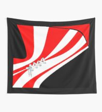 Candy Stripe Laced Corset Wall Tapestry