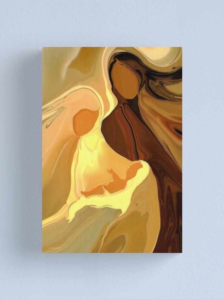 Alternate view of The Saviour is born  Canvas Print