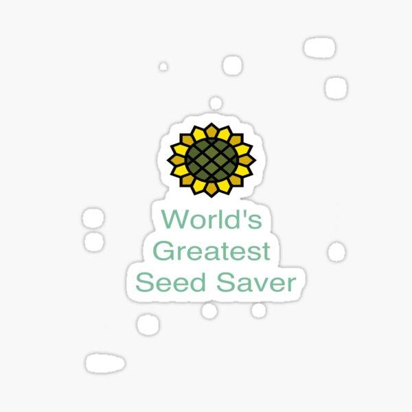 World's Greatest Seed Saver Sticker