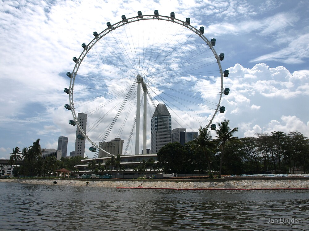 Singapore Flyer by Jan Dryden