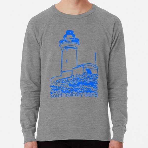 South Solitary Island Lighthouse Lightweight Sweatshirt