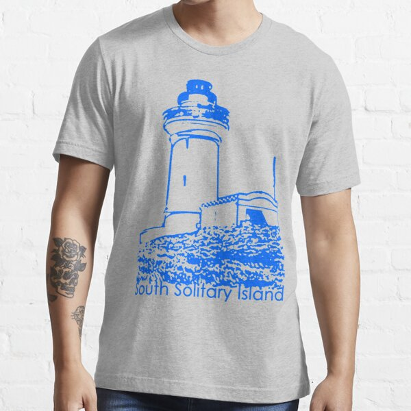 South Solitary Island Lighthouse Essential T-Shirt