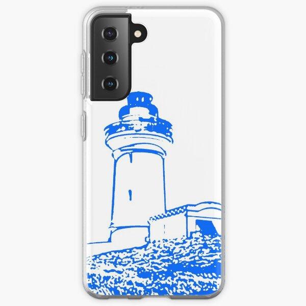 South Solitary Island Lighthouse Samsung Galaxy Soft Case