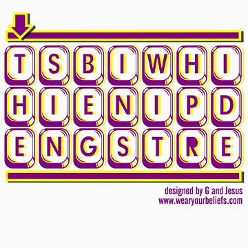 WORDGRAM ABOUT SIN... by geewillykers