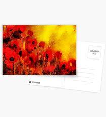 Poppy reverie  Postcards