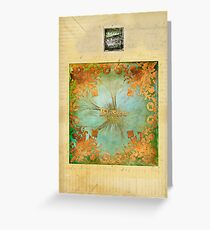 Golden Blessings  Greeting Card