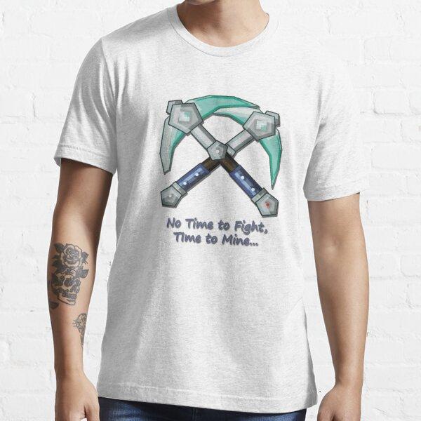 Minecraft Diamond Pickaxe Saying Essential T-Shirt
