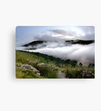 Cloud Valley Canvas Print