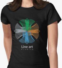 Line art design T-Shirt