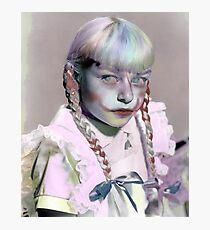 Rainbow Rhoda Photographic Print