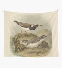 Plovers Playtime Wall Tapestry