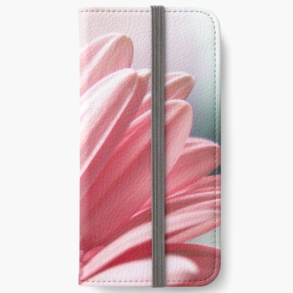 Soft flower iPhone Wallet