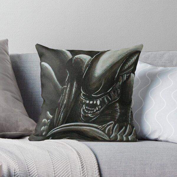 Alien Ink Fan Art Throw Pillow