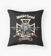 motorhead Throw Pillow