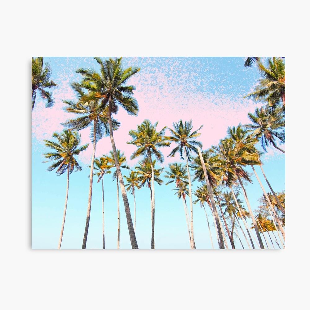 Coconut Palms #redbubble #decor #buyart Lienzo