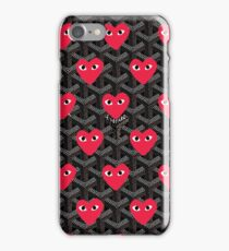 Play Heart Graph iPhone Case/Skin
