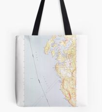 USGS Topo Map Washington State WA Roche Harbor 243488 1954 24000 Tote Bag
