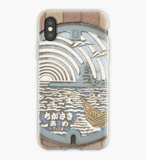 Eboshi Rock Manhole iPhone Case