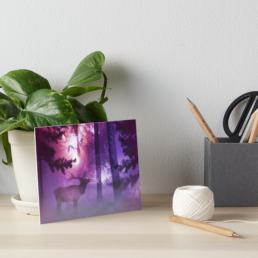 The Enchanted Forest  Art Board Print