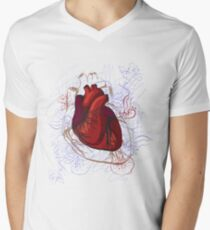drawing of the heart, anatomical T-Shirt
