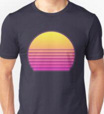 Synthwave Sun Unisex T-Shirt