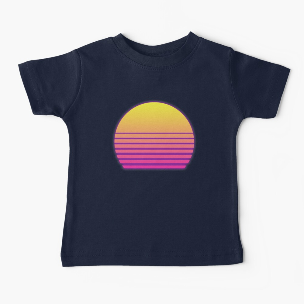 Synthwave Sun Baby T-Shirt