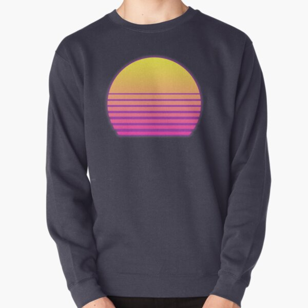 Synthwave Sun Sweatshirt épais