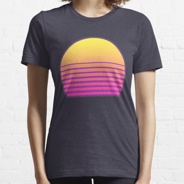 Synthwave Sun Essential T-Shirt