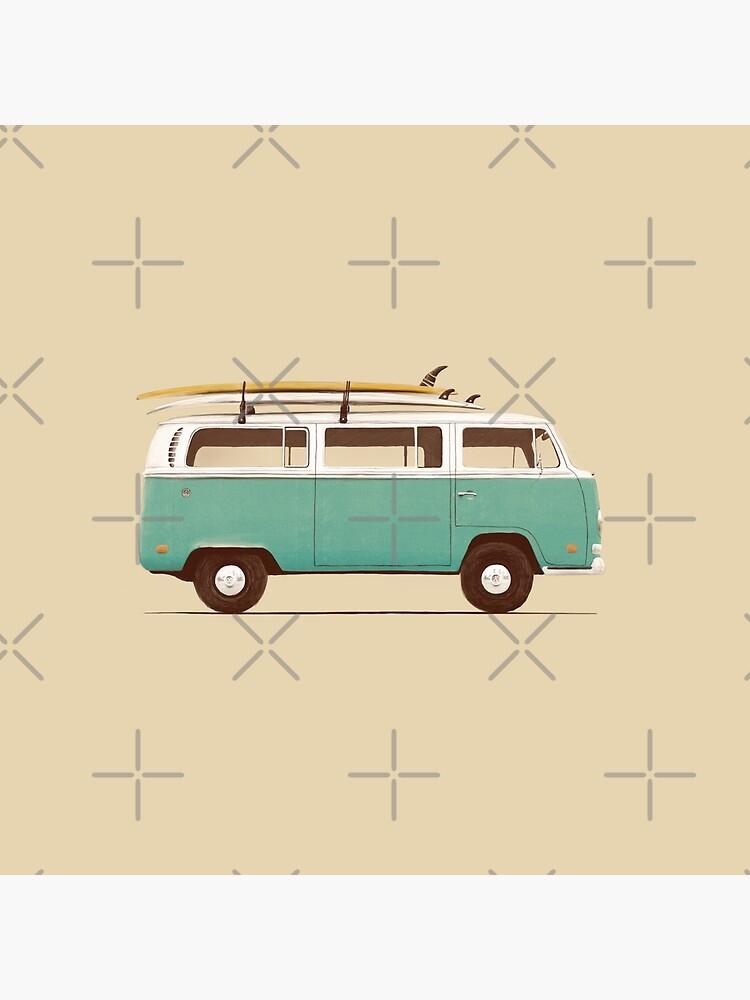 Blue Van by florentbodart
