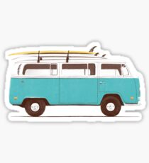 Pegatina Blue Van