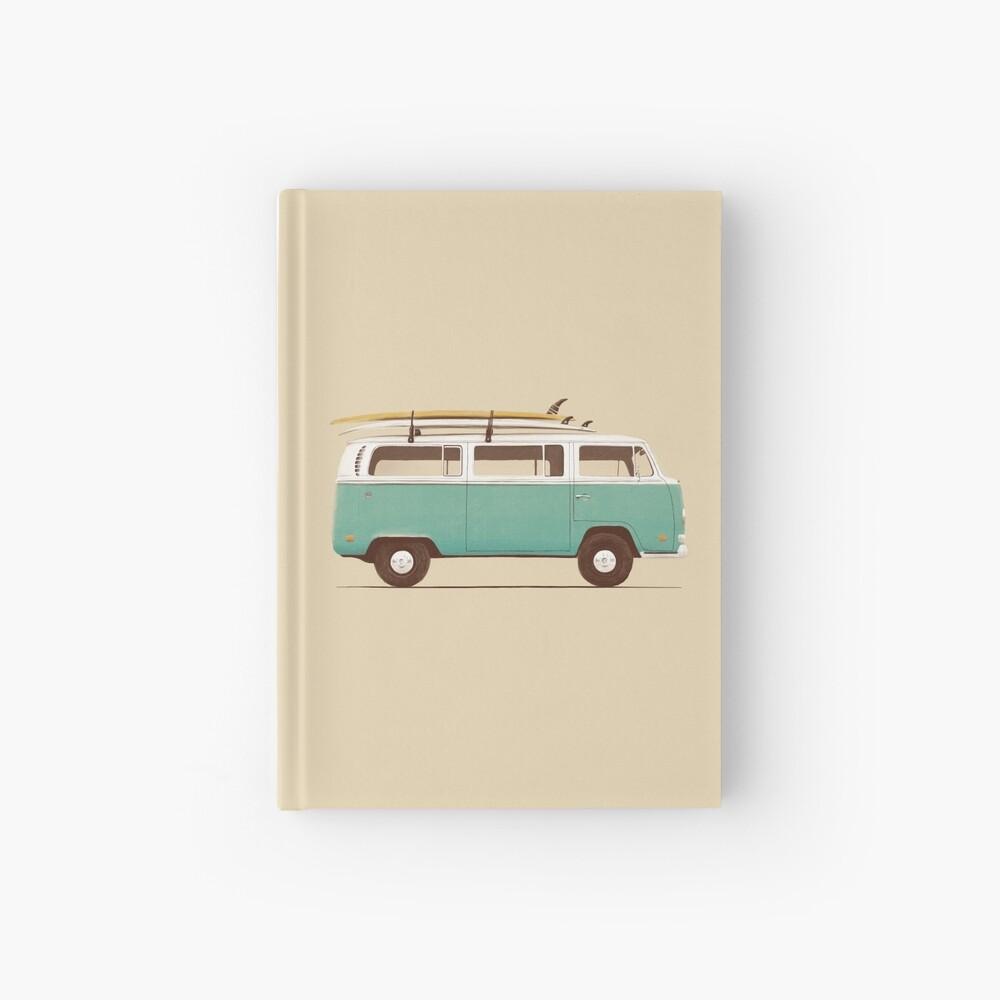 Blue Van Hardcover Journal