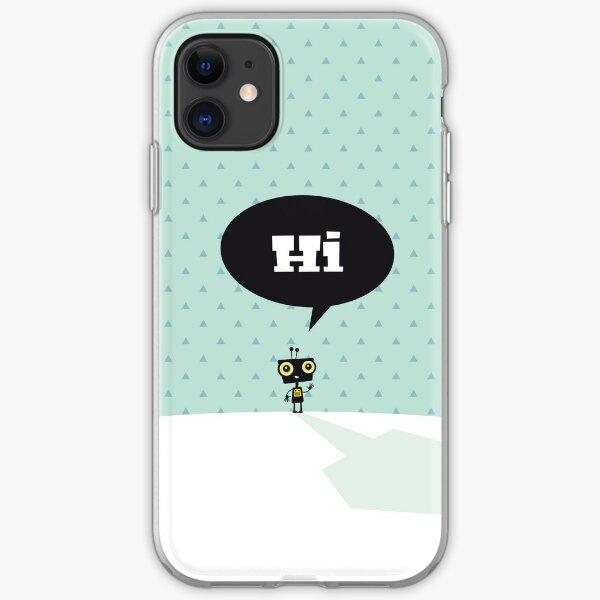 Hi, kleiner Roboter iPhone Flexible Hülle