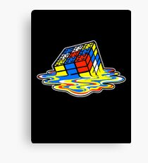 Building the Cube Canvas Print