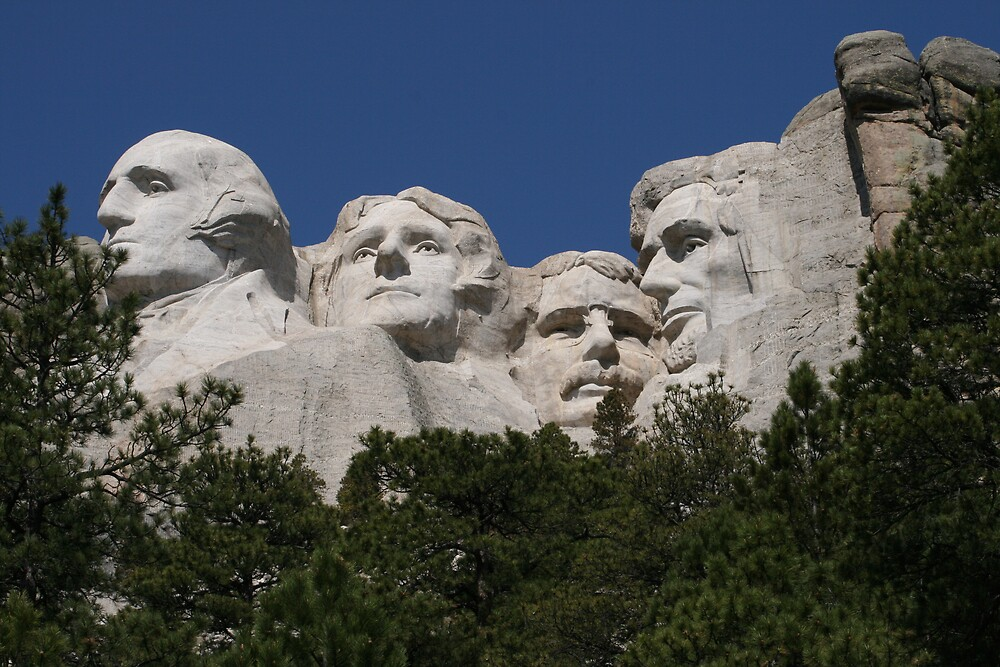 Under the noses of presidents - Mount Rushmore, South Dakota USA May 2007 by Tim Light