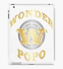 Wonder Popo T Shirt Gift For Super Grandpa On Special Day iPad Case/Skin
