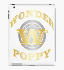 Wonder Poppy T Shirt Gift For Super Grandpa On Special Day iPad Case/Skin