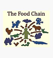 The Food Chain Photographic Print