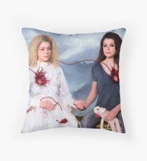 Helena + Sarah Throw Pillow