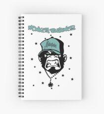 Motherfucker - Monkey Businez Design Spiral Notebook