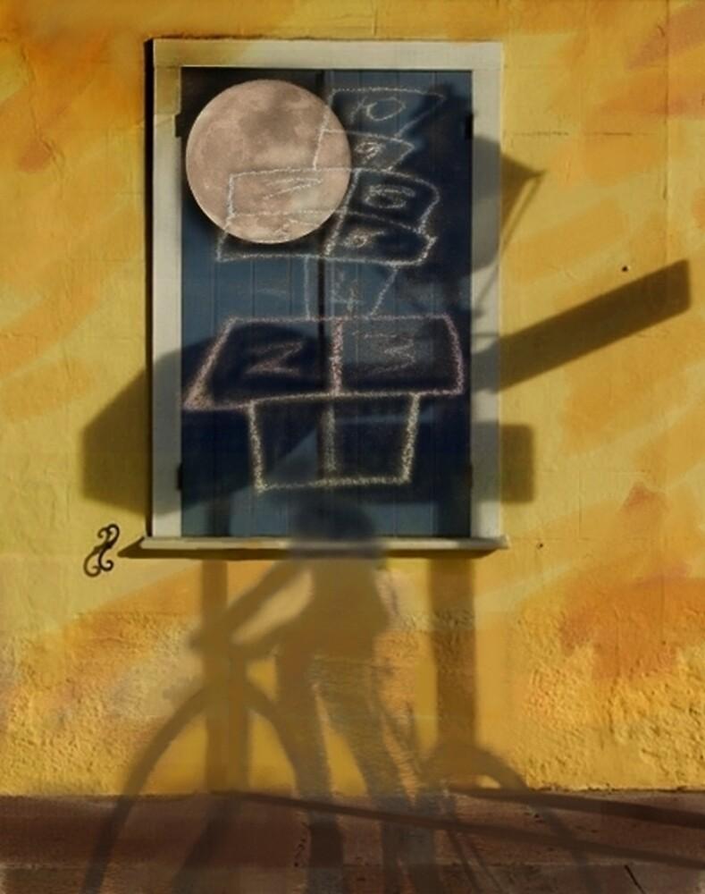 Childhood's LampPost by Sergiu