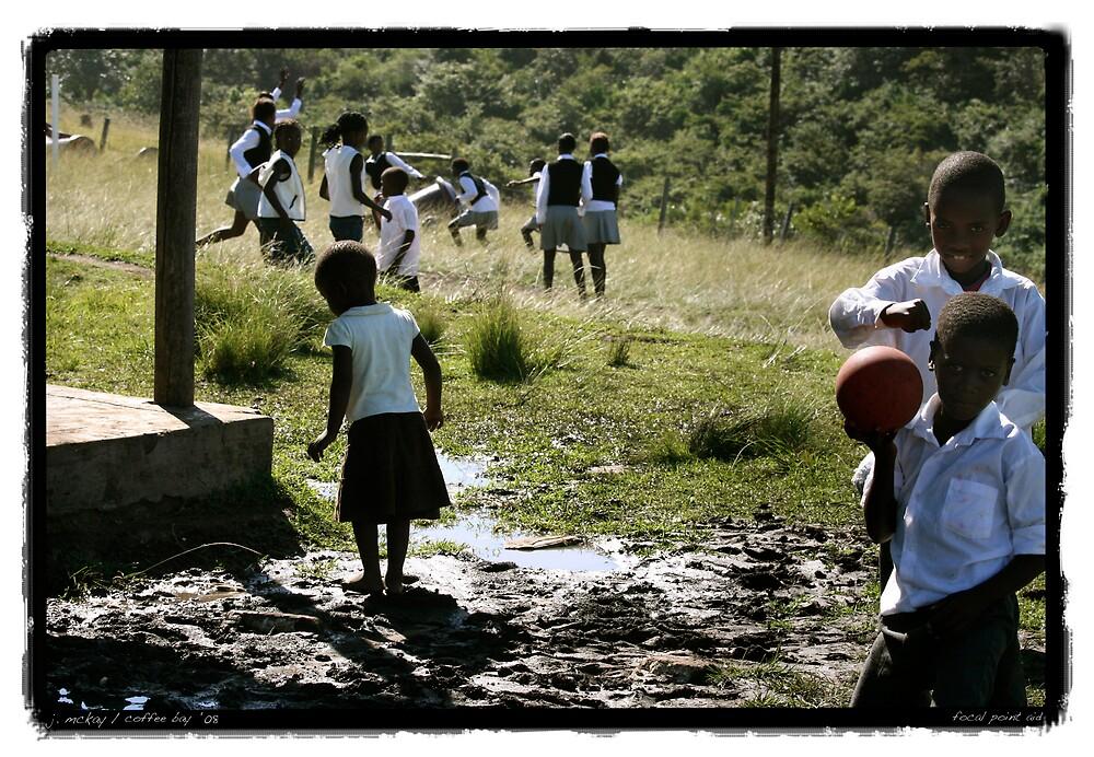 South African School Yard by Joe Mckay
