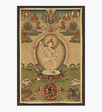 Machig Labdron, the Tibetan Yogini Photographic Print