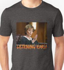 Judge Judy - LISTENING EARS T-Shirt
