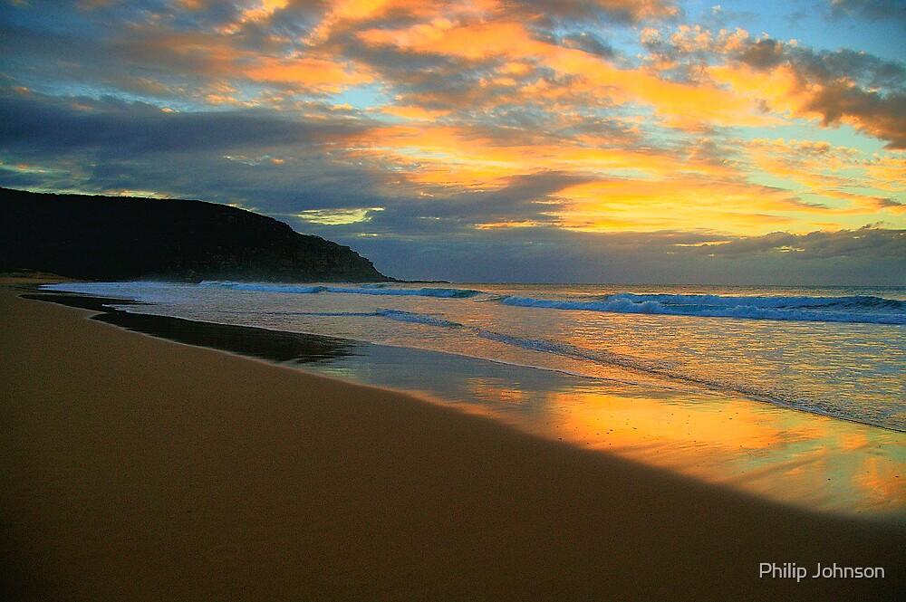 Light On The Sand - Palm Beach - Sydney Beaches - The HDR Series by Philip Johnson